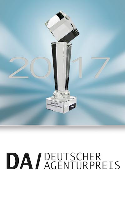 DRWA Das Rudel Werbeagentur Freiburg > Agentur für mediale Kommunikation > Insights > Als erste Agentur aus Freiburg: DRWA gerwinnt den Deutschen Agenturpreis 2017