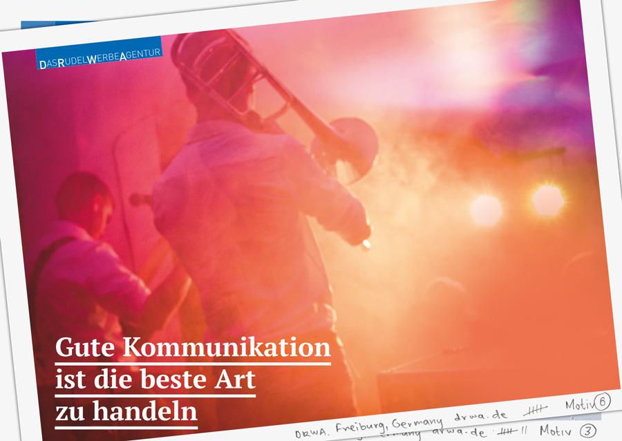 DRWA Das Rudel Werbeagentur Freiburg > Gute Kommunikation ist die beste Art zu handeln - Frühling 2019