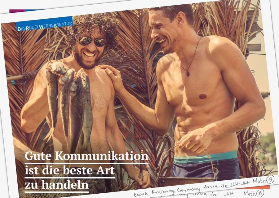DRWA Das Rudel Werbeagentur Freiburg > Gute Kommunikation ist die beste Art zu handeln - Sommer 2019