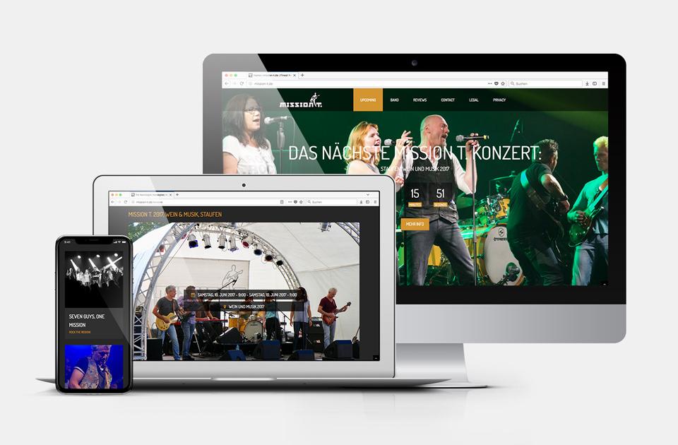 DRWA Das Rudel Werbeagentur Freiburg > Kompetenzen > Web-Design > Mission T., Heitersheim