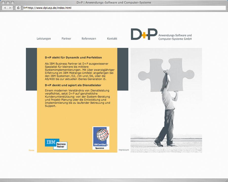 DRWA Das Rudel Werbagentur Freiburg | Awards Jahrbuch der Werbung 2007 | Website D+P