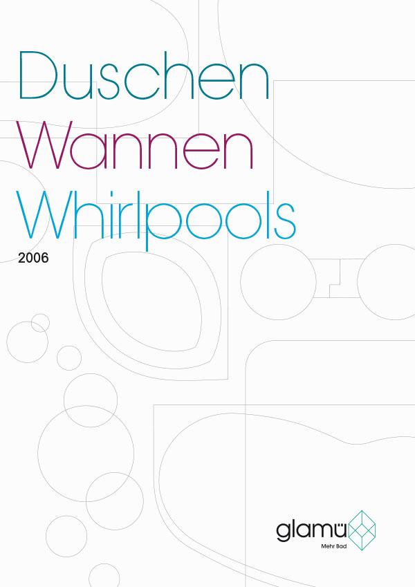 DRWA Das Rudel Werbagentur Freiburg | Awards Jahrbuch der Werbung 2007 | Katalog Glamü Duschen Wannen Whirlpools