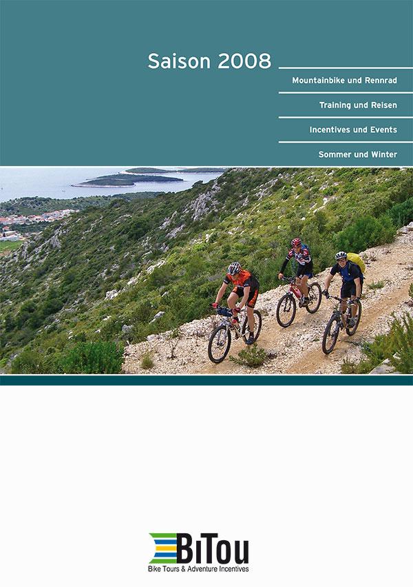 DRWA Das Rudel Werbagentur Freiburg | Awards Jahrbuch der Werbung 2008 | Katalog BiTou BikeTours ] Adventure Incentives