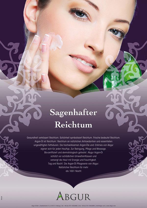 DRWA Das Rudel Werbagentur Freiburg | Awards Jahrbuch der Werbung 2011 | Anzeige Abgur Feinkost und Kosmetik