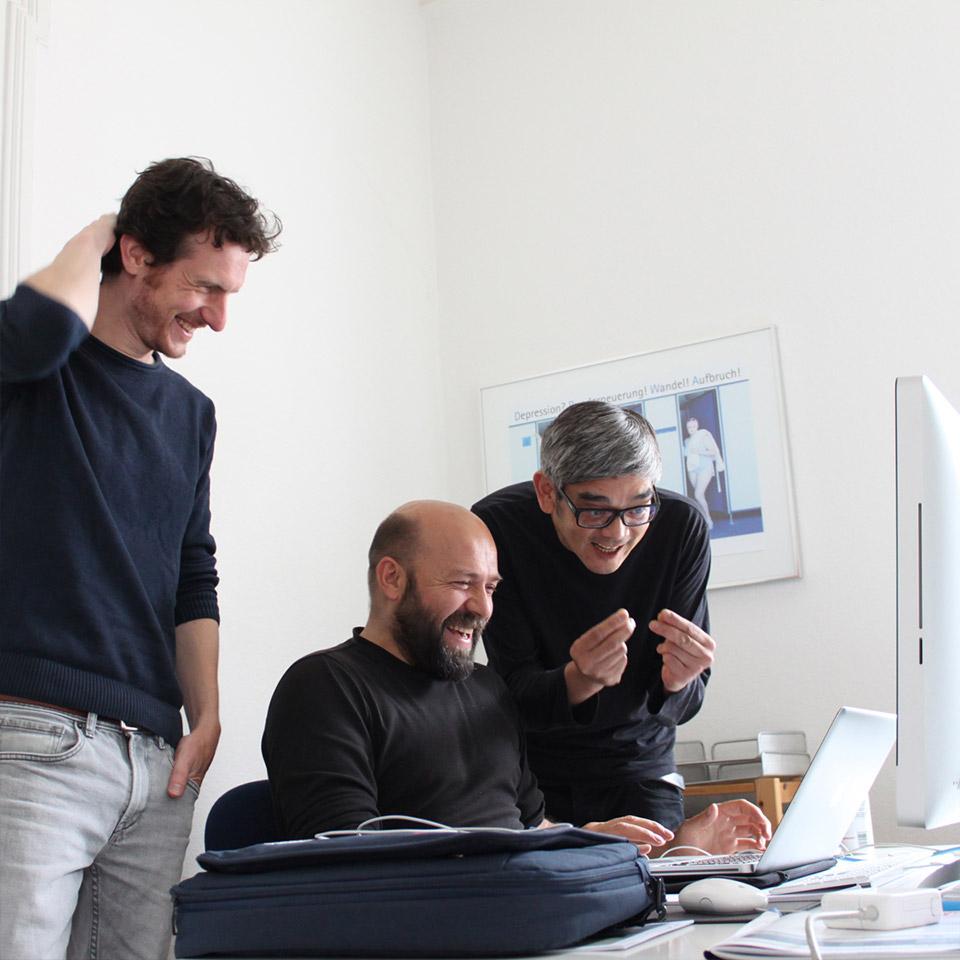 DRWA Das Rudel Werbeagentur Freiburg > Agentur für mediale Kommunikation > Insights > Die drei Lachmuske(l)tiere